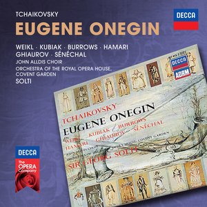 Image pour 'Tchaikovsky: Eugene Onegin'