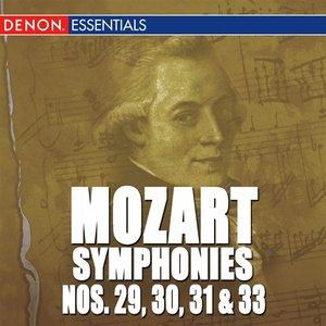Image pour 'Mozart: The Symphonies - Vol. 6 - No. 29, 30, 31 & 33'