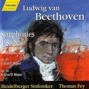 Image for 'Ludwig Van Beethoven - Symphonies 1 & 2'