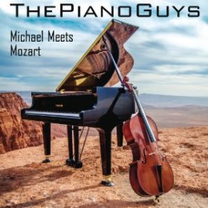 Image for 'Michael Meets Mozart (1 Piano, 2 Guys, 100 Cello Tracks)'