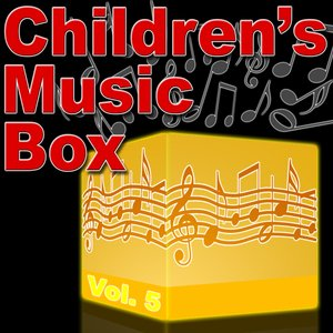 Image pour 'Children's Music Box Vol. 5 - Music Box Lullaby Music'