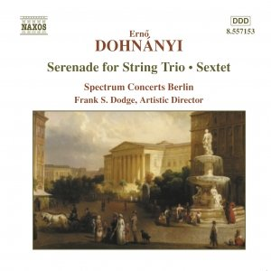 Image for 'DOHNANYI: Serenade for String Trio / Sextet'