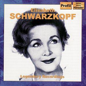 Image for 'SCHWARZKOPF, Elizabeth: Legendary Recordings'