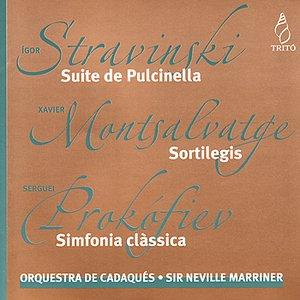 Image for 'Stravinsky: suite de pulcinella - Montsalvatge: sortilegis - Prokófiev: simfonia clàssica'