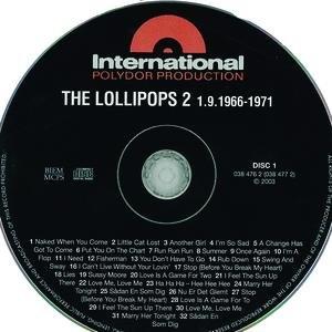 Image for 'Dansk Pigtråd vol.5 / Lollipops - The Complete 1966 - 1971 (Disk 1)'