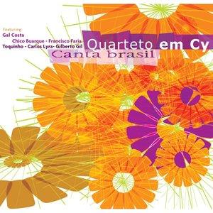 Image pour 'Quarteto Em Cy canta Brazil'