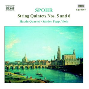 Image for 'SPOHR: String Quintets Nos. 5 and 6'