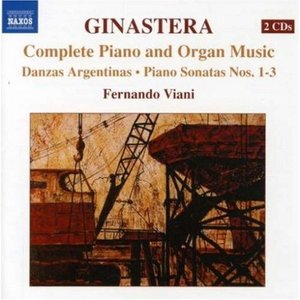 Image for 'GINASTERA: Complete Piano & Organ Music'