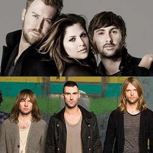 Image for 'Maroon 5 Feat. Lady Antebellum'