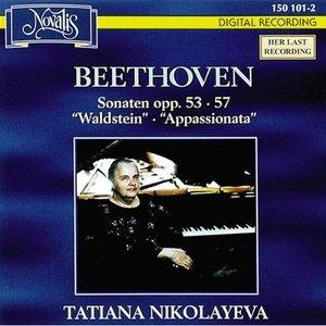 Image for 'Beethoven: Piano Sonatas Opp.53  Waldstein & 57  Appassionata Tatiana Nikolayeva'