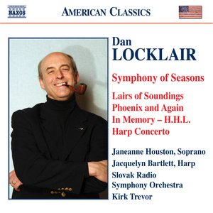 Image pour 'Locklair: Symphony of Seasons / Harp Concerto / Lairs of Soundings'