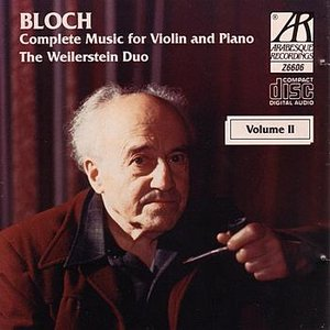 Image for 'Bloch: Complete Music for Violin and Piano, Volume 2'