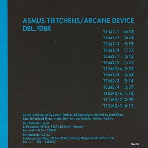 Image for 'Asmus Tietchens & Arcane Device'