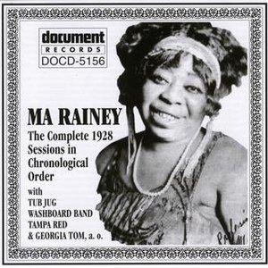 Image for 'Ma Rainey (1928)'