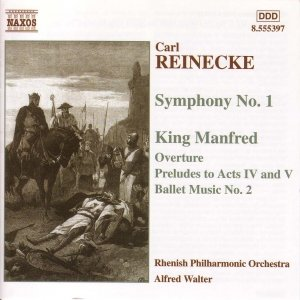 Image for 'REINECKE: Symphony No. 1 / King Manfred'