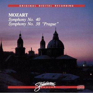 """Image for 'Symphony No 40, Symphony No 38 """"Prague""""'"""