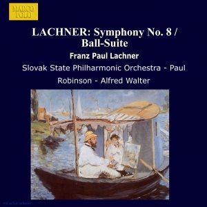 Image for 'LACHNER: Symphony No. 8 / Ball-Suite'