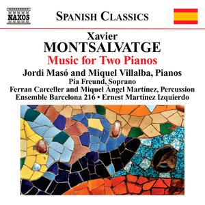 Image for 'Montsalvatge: Piano Music, Vol. 3: Music for 2 Pianos'