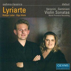 Image for 'Geminiani, F.: Violin Sonatas, Op. 4 - Nos. 1, 8, 9, 10 / Veracini, F.M.: Violin Sonatas, Op. 1 - Nos. 7, 8'