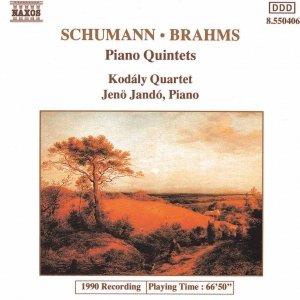 Image pour 'SCHUMANN, R. / BRAHMS: Piano Quintets'