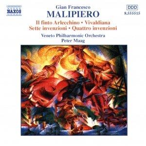 Image for 'MALIPIERO: Il finto Arlecchino / Vivaldiana'