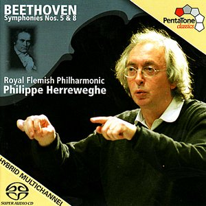 Image for 'BEETHOVEN: Symphonies Nos. 5 and 8 (Herreweghe)'