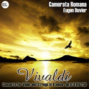 Image for 'Vivaldi: Concerto for Violin and Strings in D minor, Op.6/6 RV 239'