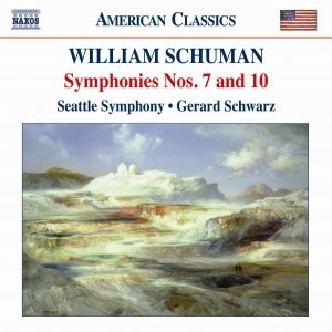 Image for 'SCHUMAN: Symphonies Nos. 7 and 10'