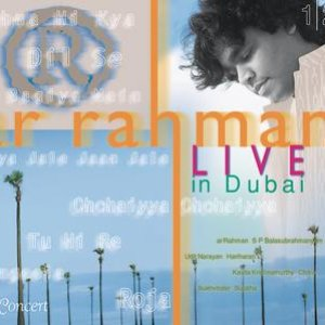 Image for 'A R Rahman - Live In Dubai - Hindi'