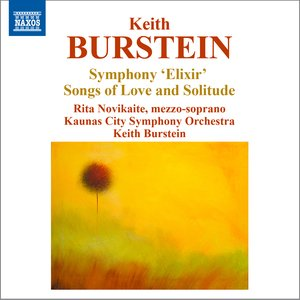 """Image for 'Burstein: Symphony """"Elixir"""" & Songs of Love and Solitude'"""