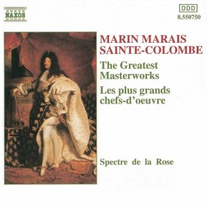 Image for 'MARAIS / SAINTE-COLOMBE: The Greatest Masterworks'