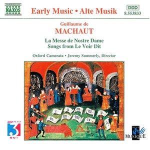 Image for 'MACHAUT: Messe de Nostre Dame (La) / Le Voir Dit'