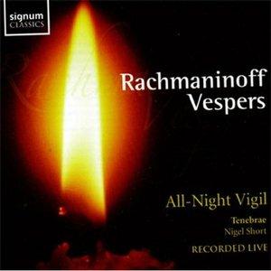 Image for 'Rachmaninoff Vespers: All-Night Vigil'