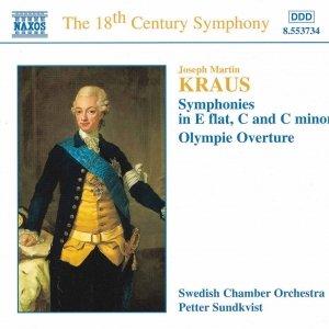 Image for 'KRAUS: Symphonies, Vol.  1'