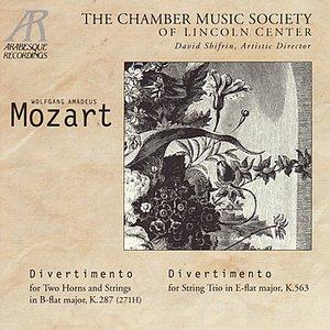 """Divertimento for String Trio in E-Flat Major, K. 563: I. Allegro""的封面"