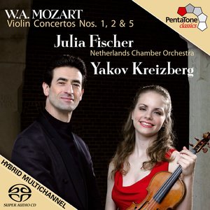 Image for 'MOZART: Violin Concertos Nos. 1, 2 and 5'