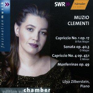Image for 'Clementi: Capriccio No. 1, Op. 17 / Piano Sonata Op. 40/3 / Capriccio No. 4, Op. 47/1'