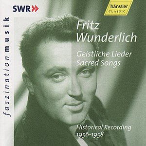 Image for 'Fritz Wunderlich: Sacred Songs - Historical Recording 1956-1958'