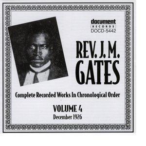 Image for 'Rev. J.M. Gates Vol. 4 (1926)'