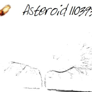 Image for 'Asteroid 110393'