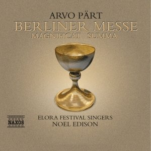 Image pour 'PART: Berliner Messe / Magnificat / Summa'