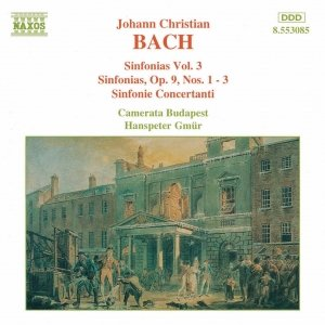 Image for 'BACH, J.C.: Sinfonias, Vol.  3'