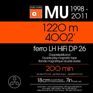 Bild för 'The MU Tapes: Early Works, 1998-2012'