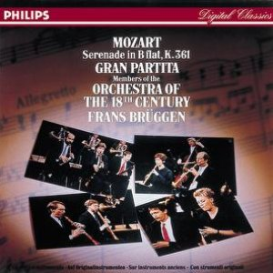 "Image for 'Mozart: Serenade, K. 361 ""Gran partita""'"
