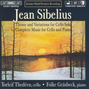 Immagine per 'Sibelius: Complete Music For Cello And Piano'