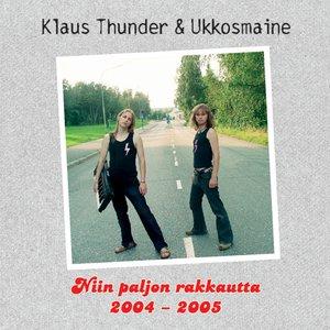 Image for 'Niin paljon rakkautta 2004-2005'