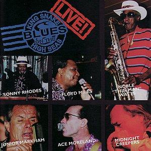 """Blues on the High Seas - King Snake LIVE!""的封面"