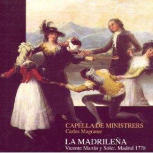 Image for 'Vicente Martín Y Soler: La Madrileña'