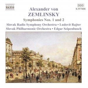 Image for 'ZEMLINSKY: Symphonies Nos. 1 and 2'