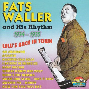 Image for 'Lulu's Back In Town (Giants of Jazz)'